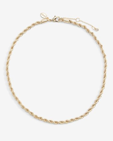 Rope Chain Necklace | Express