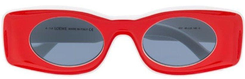 Loewe red sunglasses