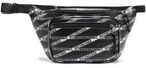 Explorer Logo-print Leather Belt Bag