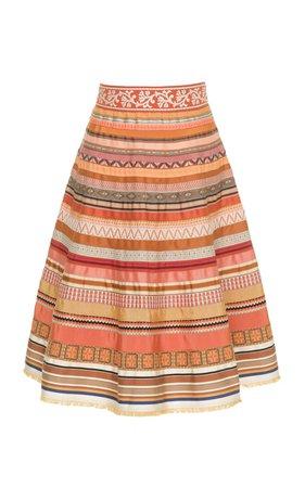 Ribbon A-Line Skirt by Lena Hoschek | Moda Operandi