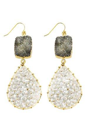 Panacea Crystal Teardrop Earrings | Nordstrom