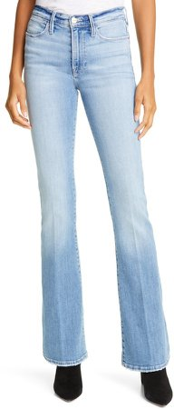 Le High Waist Flare Jeans