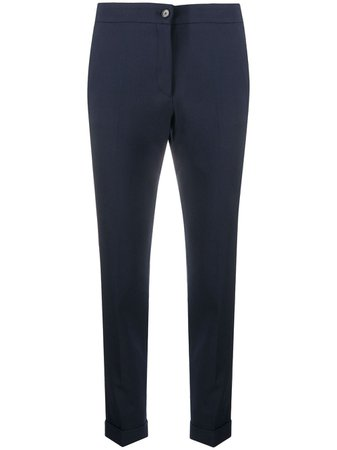 Etro slim-fit Cropped Trousers - Farfetch