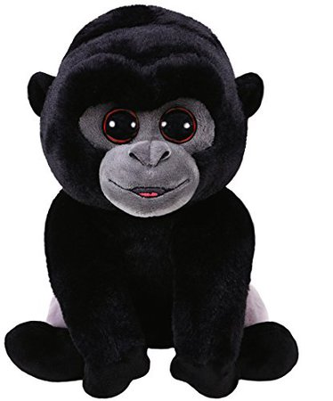 Amazon.com: Ty Beanie Babies 96326 Bo the Silverback Gorilla Classic: Toys & Games