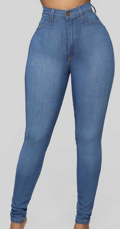 Fashion Nova Jeans, Medium Wash