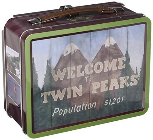 Amazon.com: Bif Bang Pow! Twin Peaks Welcome to Twin Peaks Tin Tote: Toys & Games