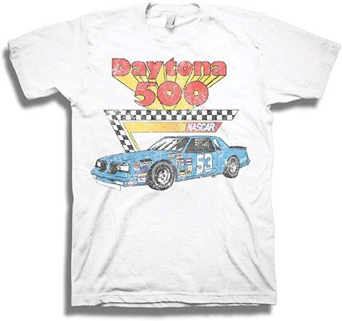 NASCAR Vintage Daytona 500 Shirt Racing Mens Graphic T-Shirt (White Daytona, XX-Large) | Amazon.com