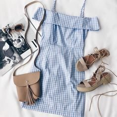 Pinterest - be the best dressed babe of the BBQ in our Beach Picnic gingham dress (shop link in bio) #lovelulus | fashion