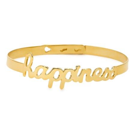 Позолоченный браслет Happiness - купить за 5 900 руб. в Москве