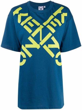 Kenzo logo-print Cotton T-Shirt - Farfetch