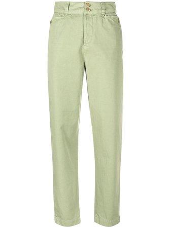 Etro Pantalon Droit à Taille Haute - Farfetch