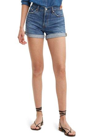Levi's® 501® High Waist Long Denim Shorts (Sansome) | Nordstrom