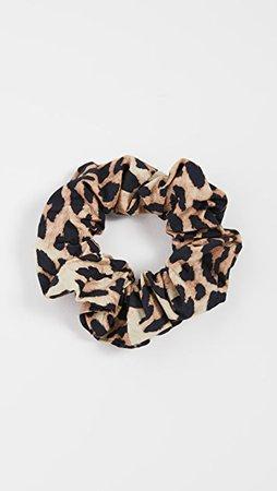GANNI Printed Cotton Poplin Scrunchie | SHOPBOP