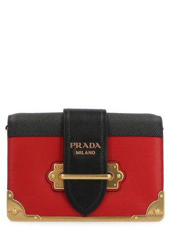 Prada Prada 'cahier' Bag - Red - 10961745 | italist