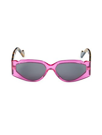 Fenty Off Record 57MM Rectangular Sunglasses | SaksFifthAvenue