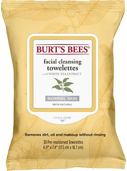 Burt's Bees Facial Cleansing Towelettes with White Tea Extract | Ulta Beauty