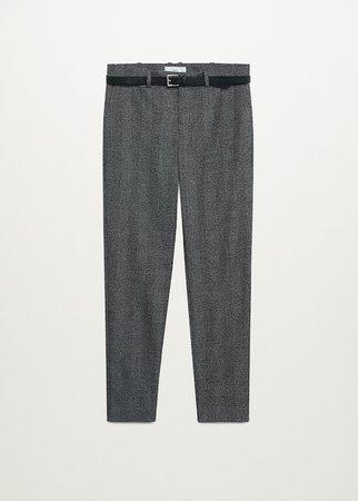 Straight suit pants - Women | Mango USA