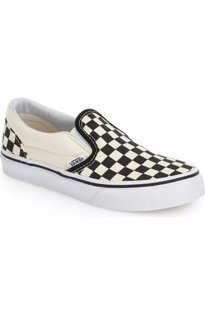 Vans Classic Checker Slip-On (Toddler, Little Kid & Big Kid) | Nordstrom