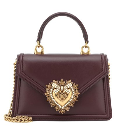 Dolce & Gabbana - Devotion small shoulder bag   Mytheresa