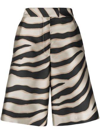 Just Cavalli zebra-print knee-lenght Shorts - Farfetch