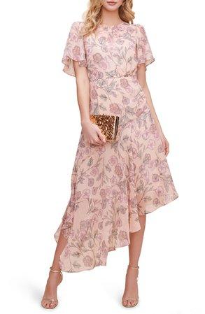 ASTR the Label Floral Print Dress   Nordstrom