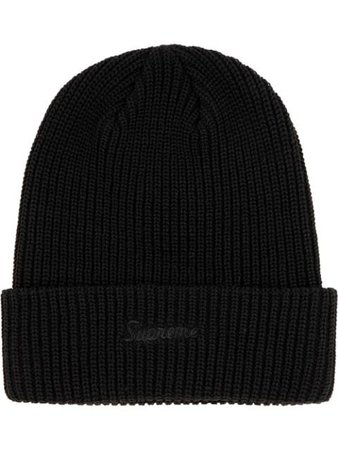 Supreme Ribbed Knitted Beanie - Farfetch