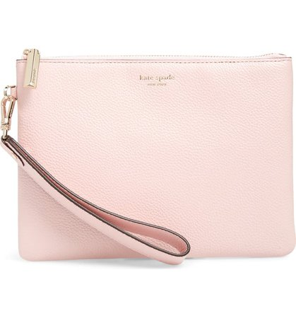 kate spade new york small margaux leather wristlet | Nordstrom