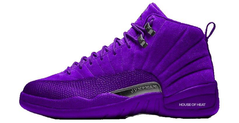 "Air Jordan 12 ""Court Purple"""