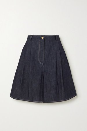 Roger Denim Shorts - Blue