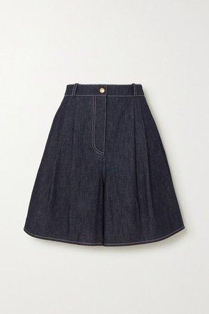 Roger Denim Shorts - Blue