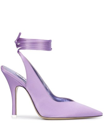 The Attico Sling-Back Pointed Pumps Ss20 | Farfetch.com