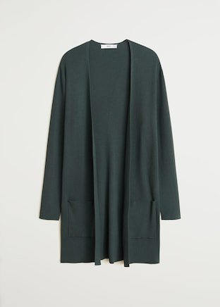 Ribbed cardigan - Women | Mango USA