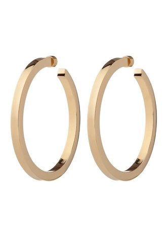 jennifer fisher erin hoops in gold