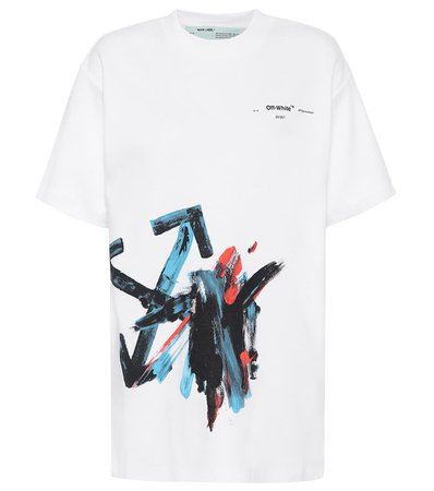 Cotton-Jersey T-Shirt - Off-White | Mytheresa
