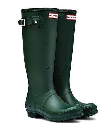 Hunter Women's Original Tall Matte Buckle Strap Rain Boots | Dillard's