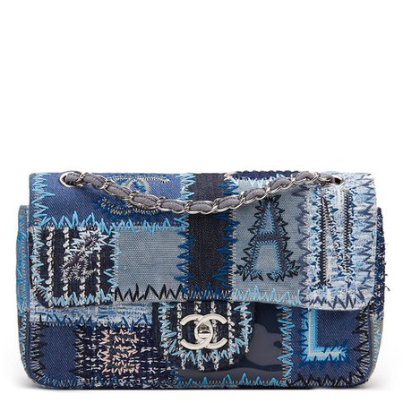 Chanel Patchwork Flap Bag 2015 HB973 | Second Hand Handbags | Xupes