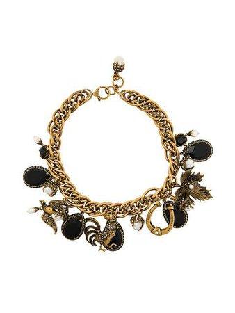 Alexander McQueen Charm Necklace - Farfetch
