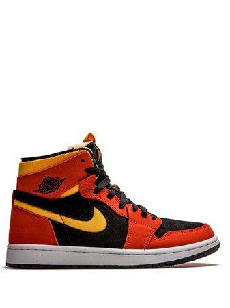 """Jordan Air Jordan 1 Zoom CMFT """"Chile Red"""" sneakers - FARFETCH"""