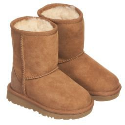 Ugg Australia - Brown CLASSIC Suede Boots | Childrensalon