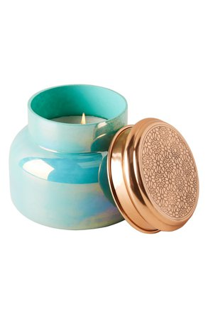 Anthropologie Turquoise Opal Jar Candle | Nordstrom