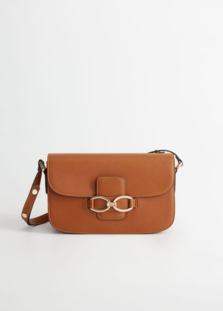 Stirrup bag - Women | Mango USA brown