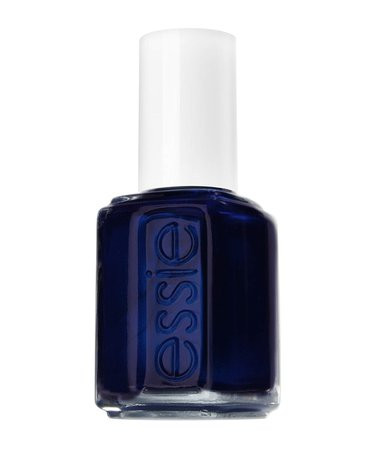 essie Original Nail Polish, Blue and Green Shades, 91 Midnight Cami 13.5 ml