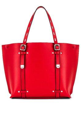 Rag & Bone Mini Field Tote Bag in Fiery Red | REVOLVE