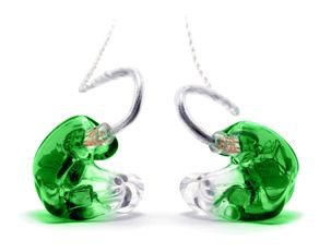 In-ear green