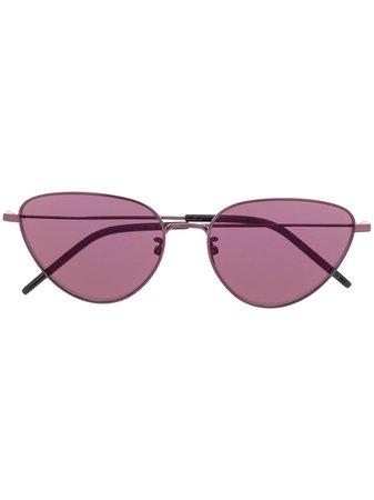 Saint Laurent Eyewear Cat-Eye Frame Sunglasses