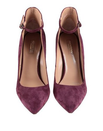 Aquazzura Pump Maroon