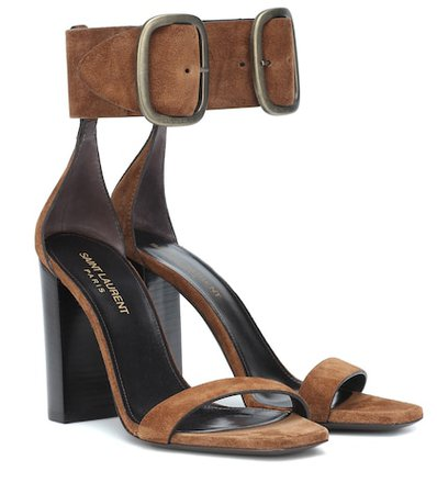 Loulou suede sandals