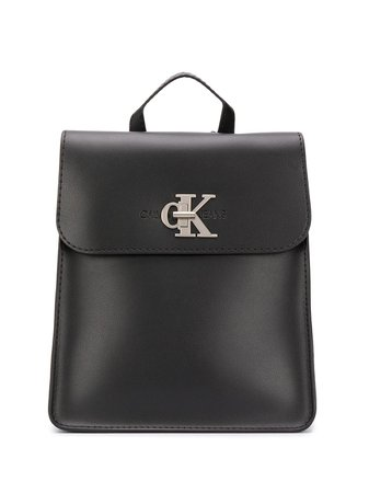 Calvin Klein Jeans Logo Plague Backpack - Farfetch