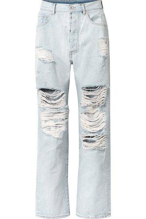 Unravel Project | Distressed boyfriend jeans | NET-A-PORTER.COM