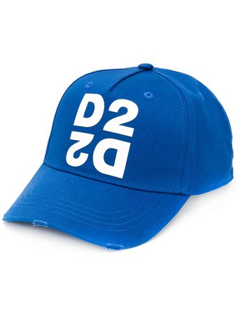 Dsquared2 Logo Printed Baseball Cap - Farfetch